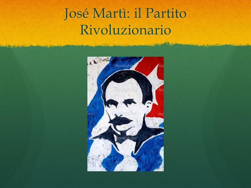 José Martì: il Partito Rivoluzionario