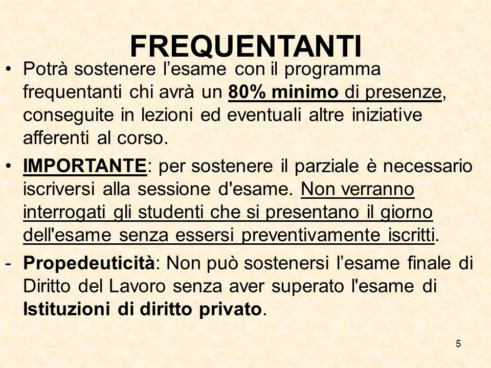 FREQUENTANTI