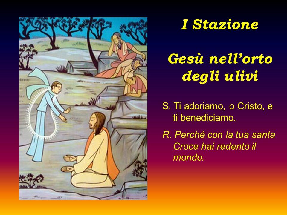 I Stazione Gesù nell'orto degli ulivi