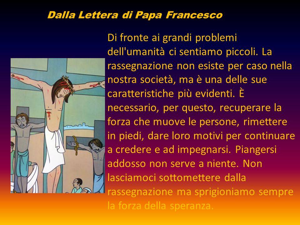 Dalla Lettera di Papa Francesco
