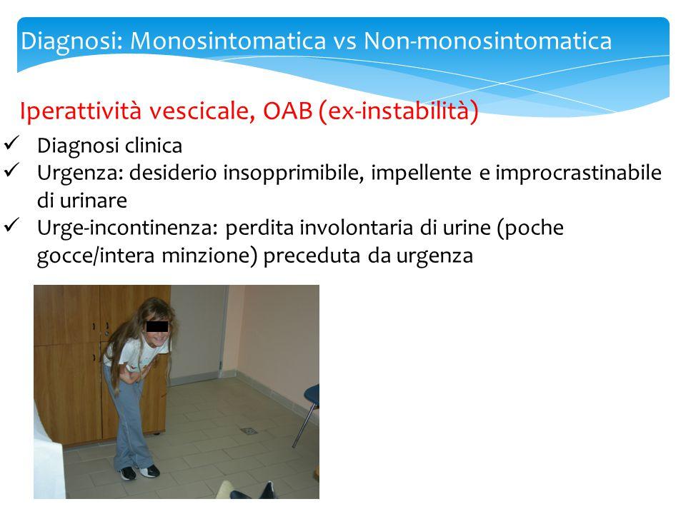 Diagnosi: Monosintomatica vs Non-monosintomatica