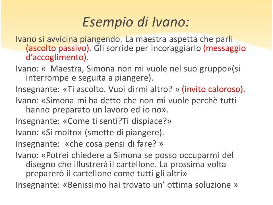 Esempio di Ivano: