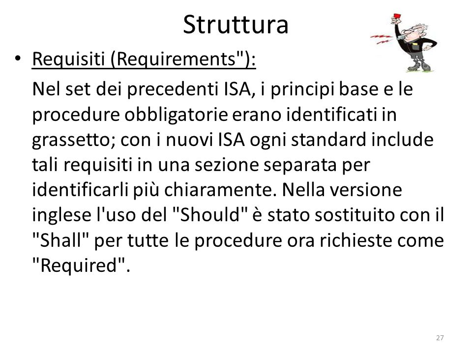 Struttura Requisiti (Requirements ):