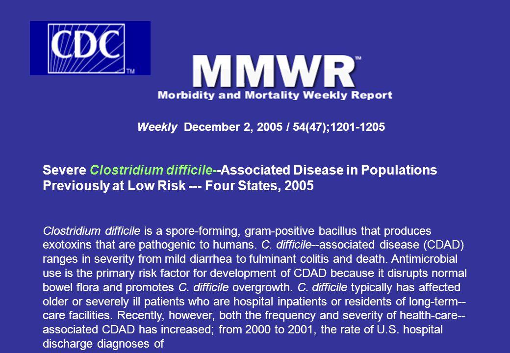 Weekly December 2, 2005 / 54(47);1201-1205