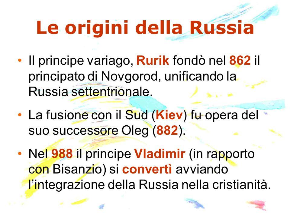 Le origini della Russia