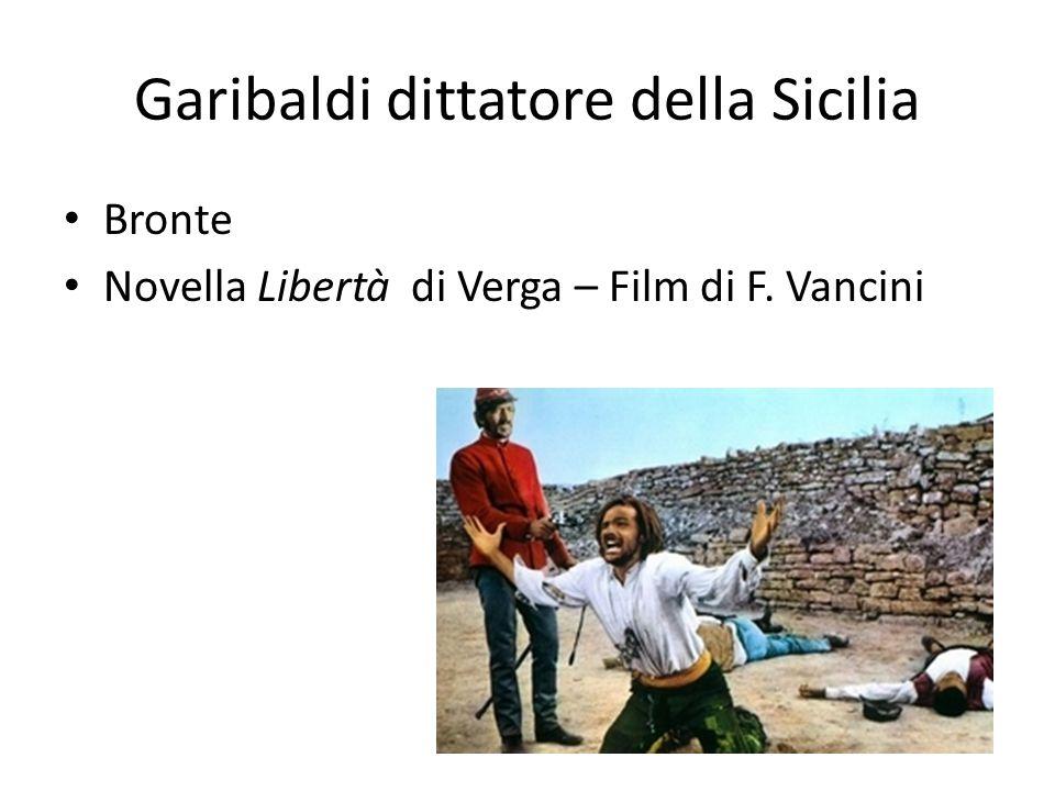 Garibaldi dittatore della Sicilia