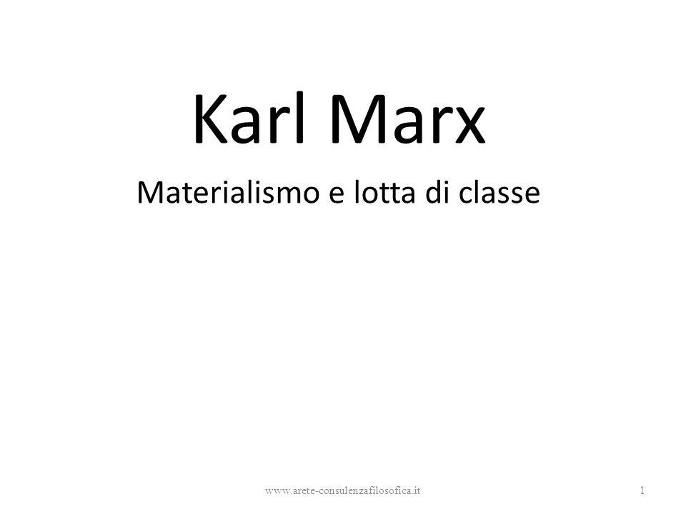 Materialismo e lotta di classe