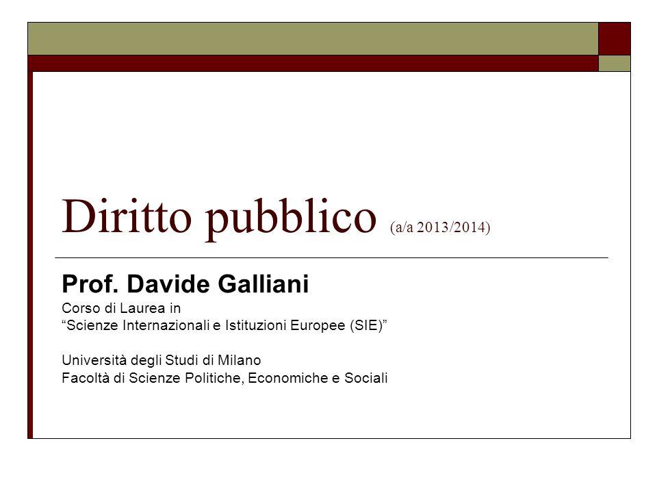Diritto pubblico (a/a 2013/2014)