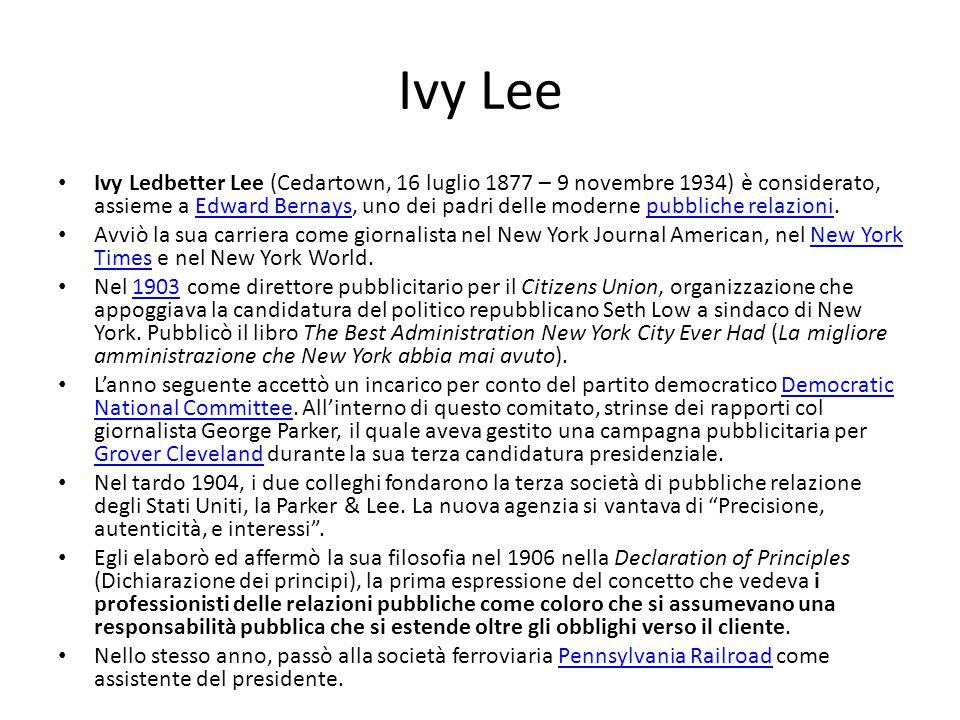 Ivy Lee