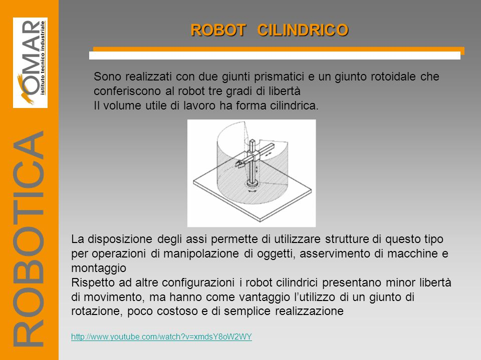 ROBOTICA ROBOT CILINDRICO