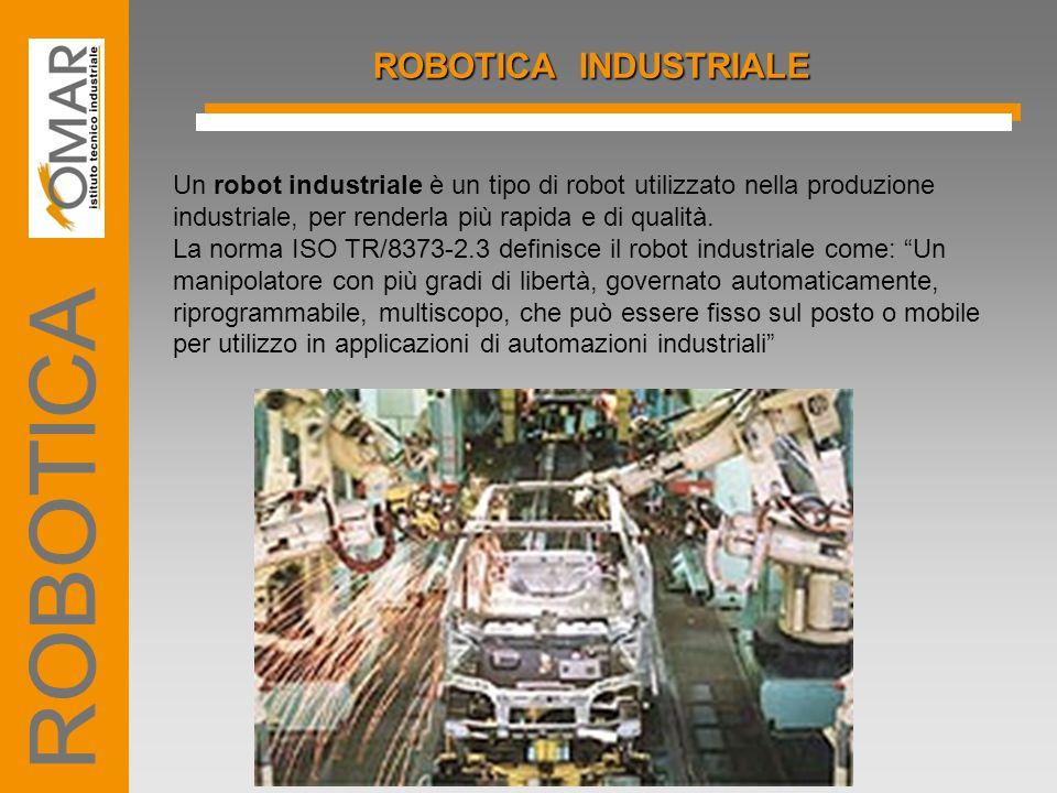 ROBOTICA ROBOTICA INDUSTRIALE