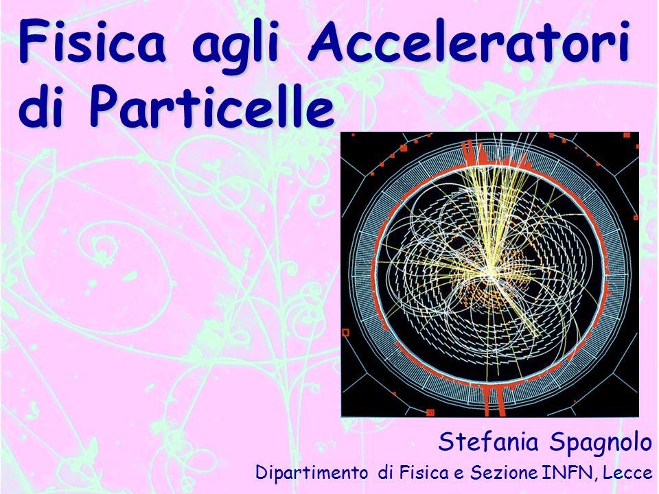 Fisica agli Acceleratori di Particelle