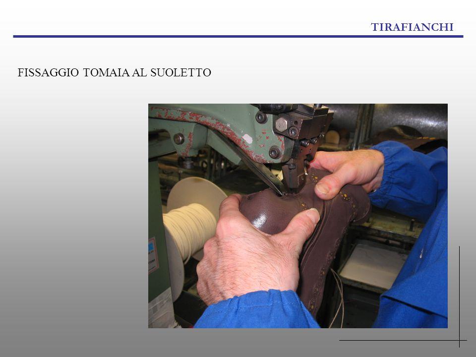 TIRAFIANCHI FISSAGGIO TOMAIA AL SUOLETTO