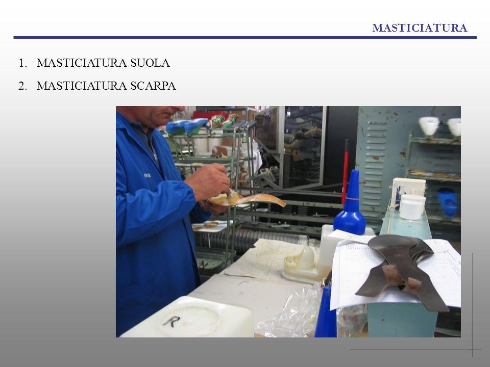 MASTICIATURA MASTICIATURA SUOLA MASTICIATURA SCARPA