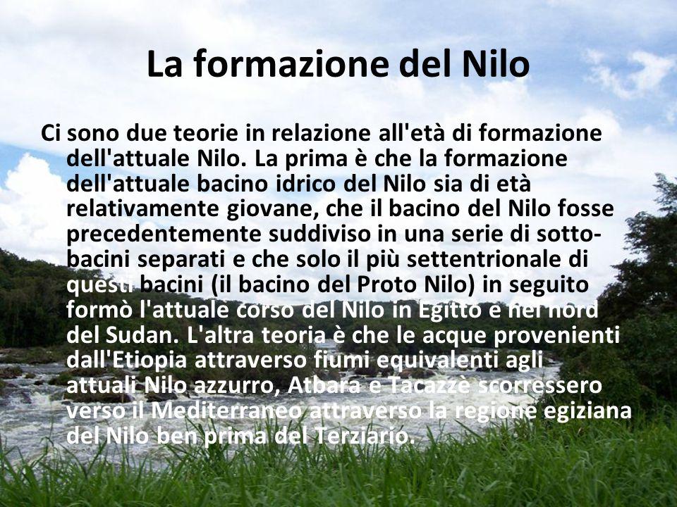 La formazione del Nilo