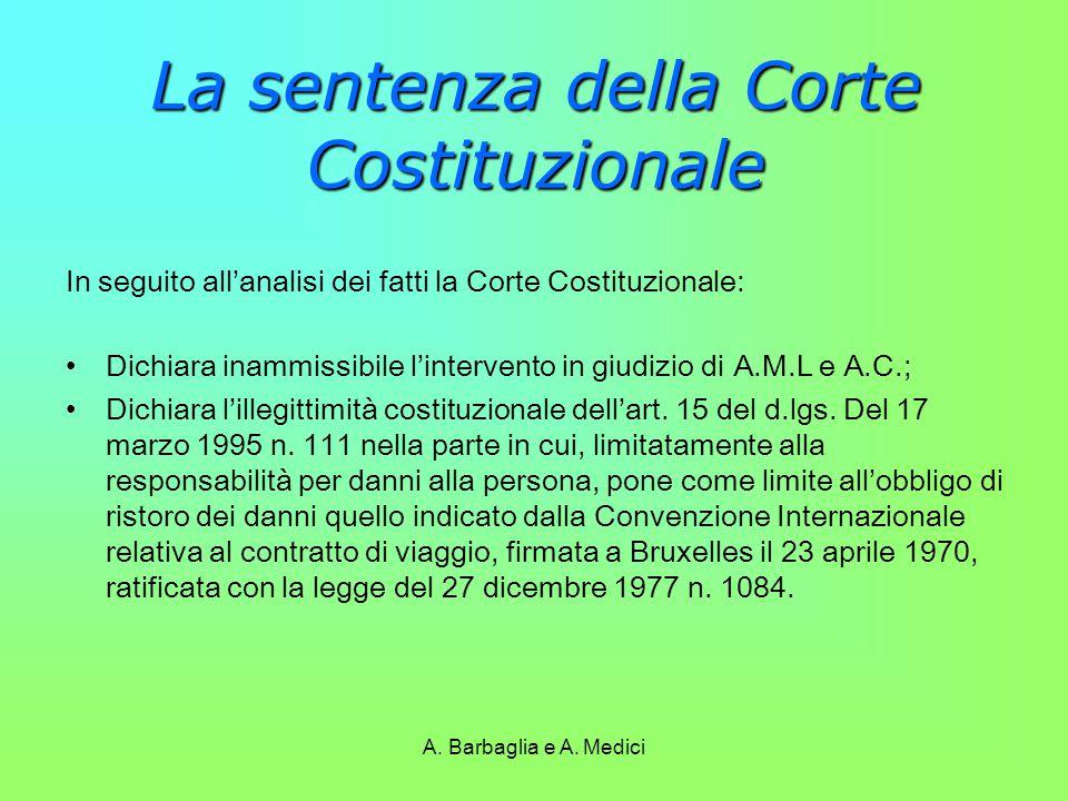 La sentenza della Corte Costituzionale