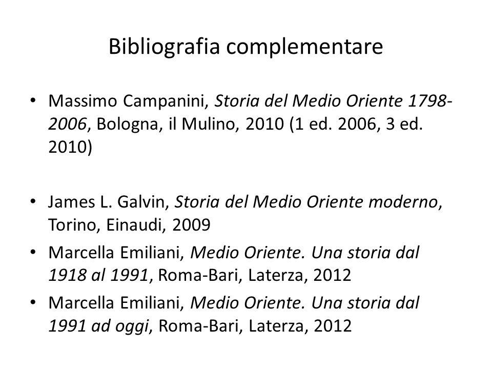 Bibliografia complementare