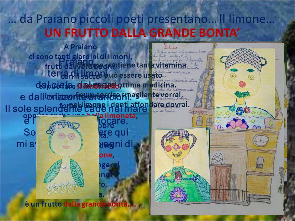 … da Praiano piccoli poeti presentano… ll limone…