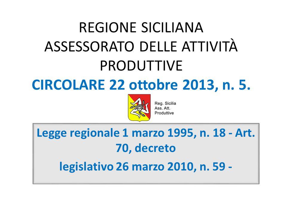 Legge regionale 1 marzo 1995, n. 18 - Art. 70, decreto