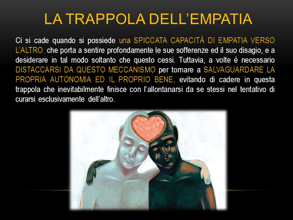 La trappola dell'empatia