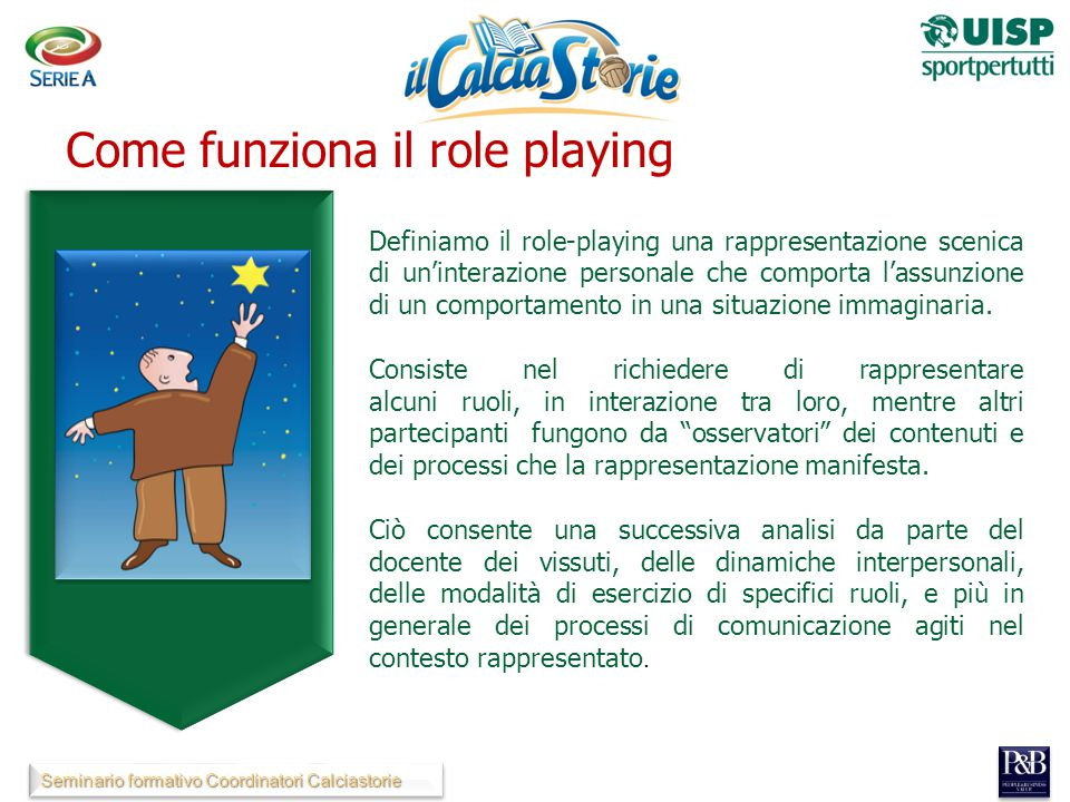 Come funziona il role playing