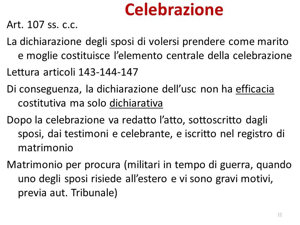 Celebrazione