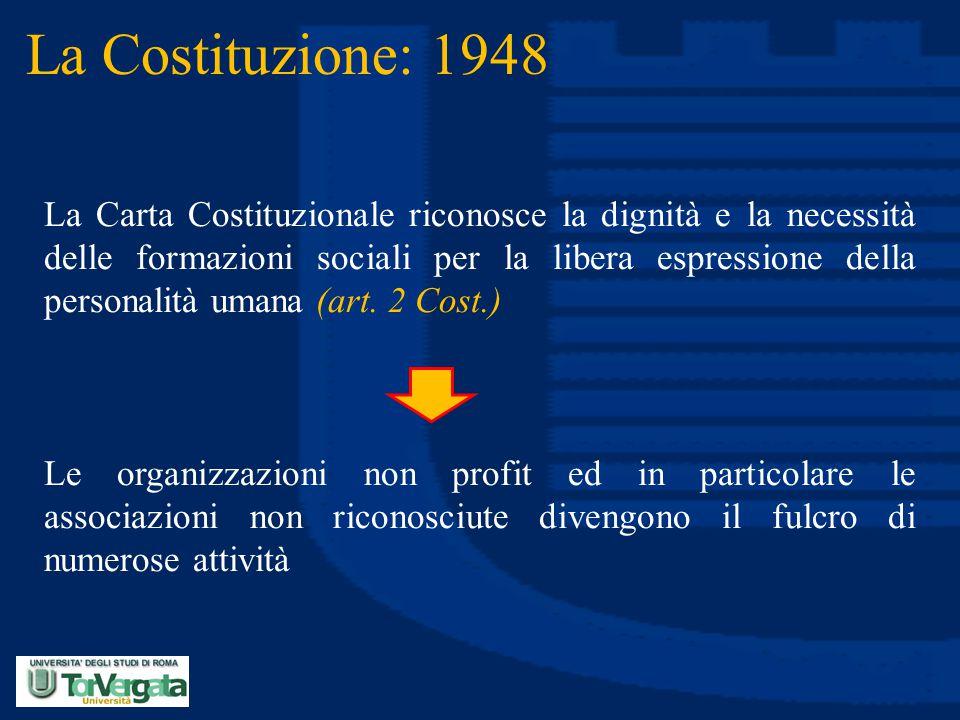 La Costituzione: 1948