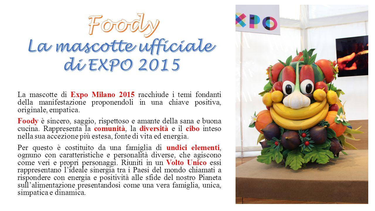 Foody La mascotte ufficiale di EXPO 2015