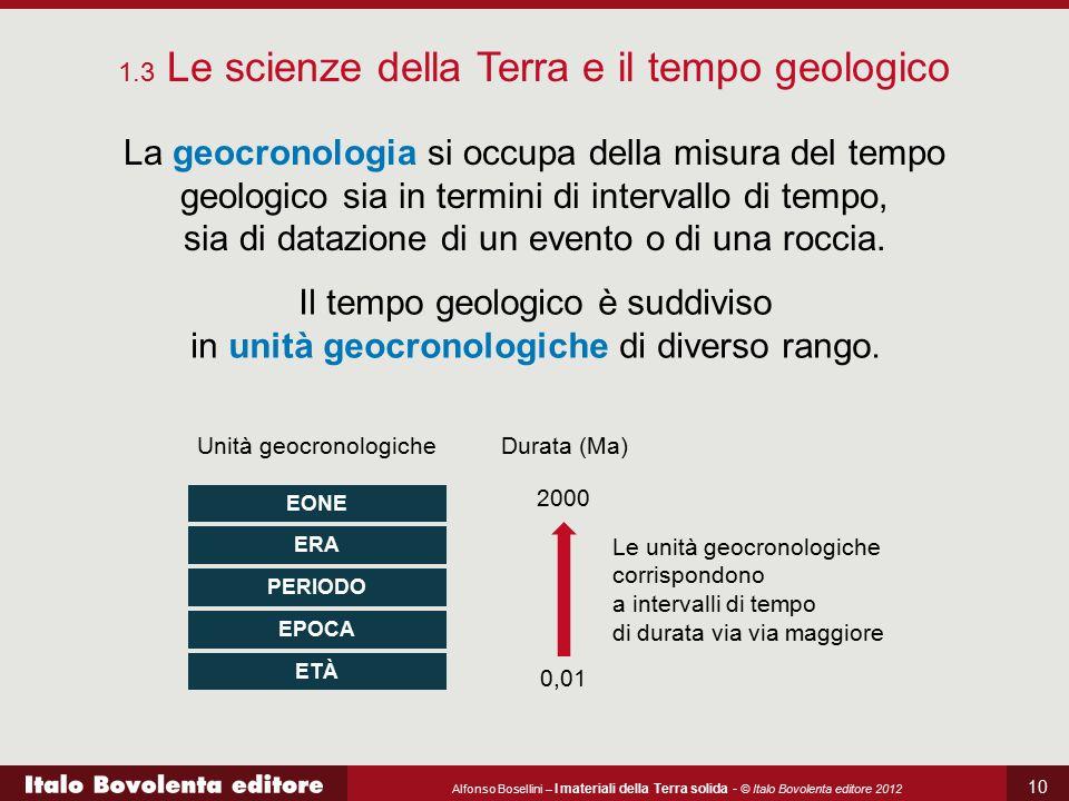 1.3 Le scienze della Terra e il tempo geologico