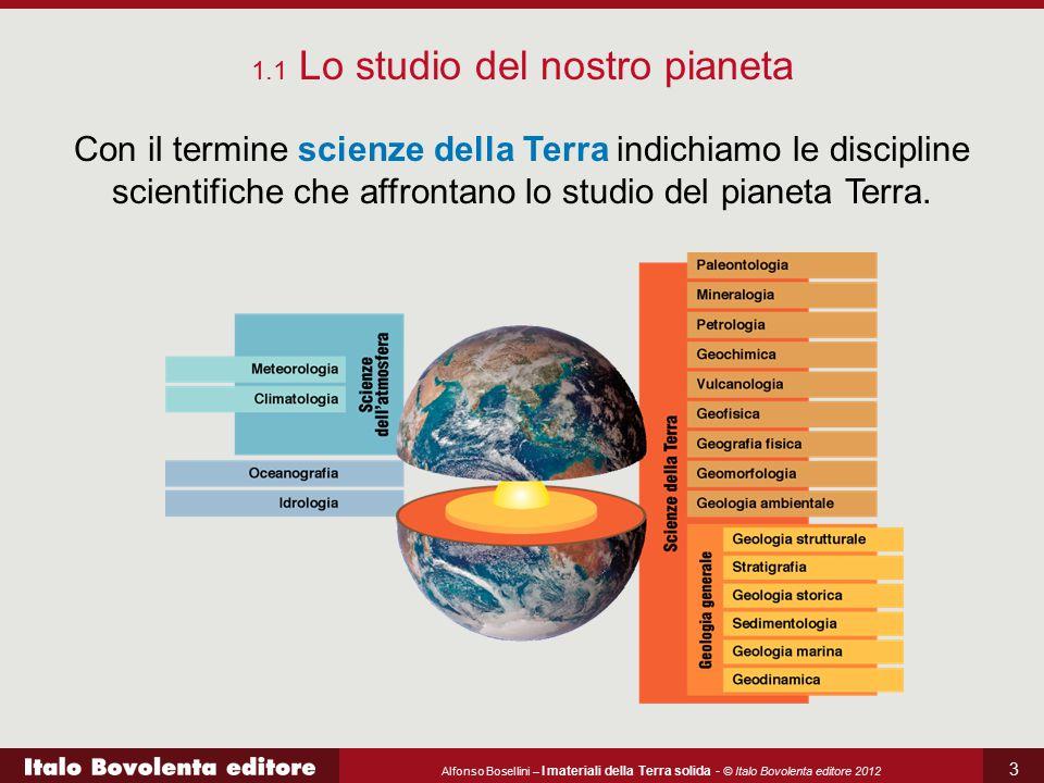 1.1 Lo studio del nostro pianeta