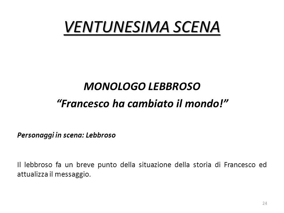 Francesco ha cambiato il mondo!