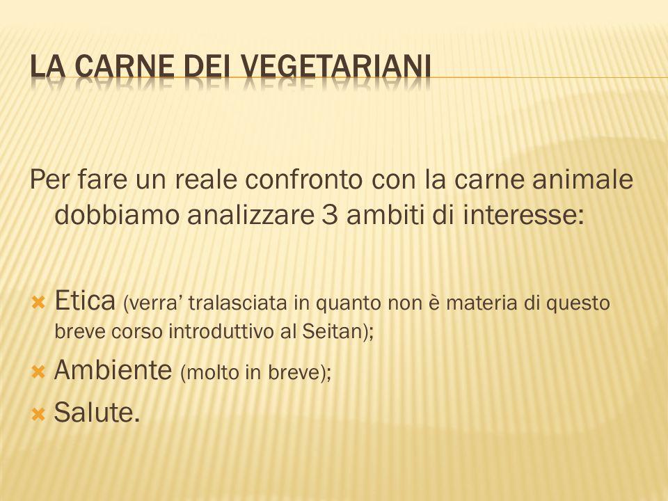 La carne dei vegetariani