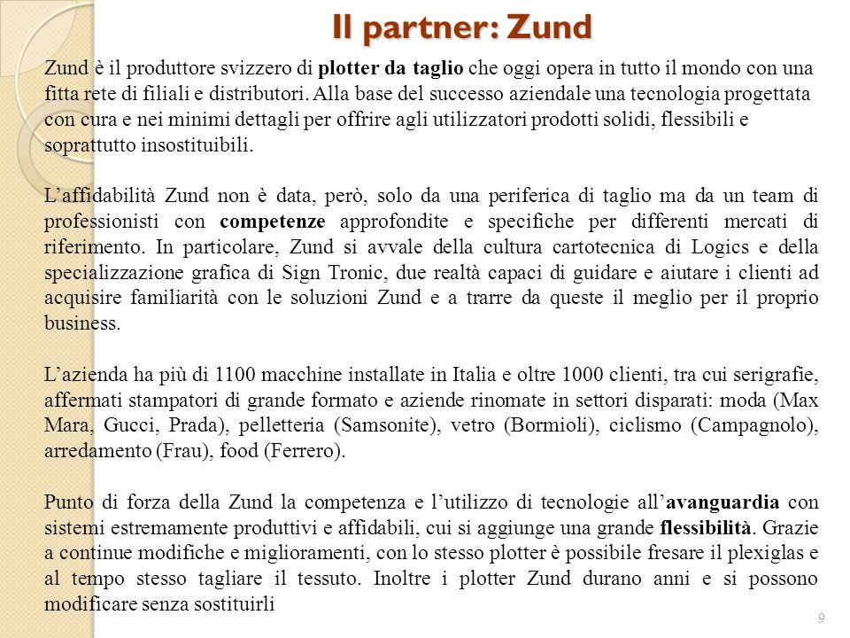 Il partner: Zund