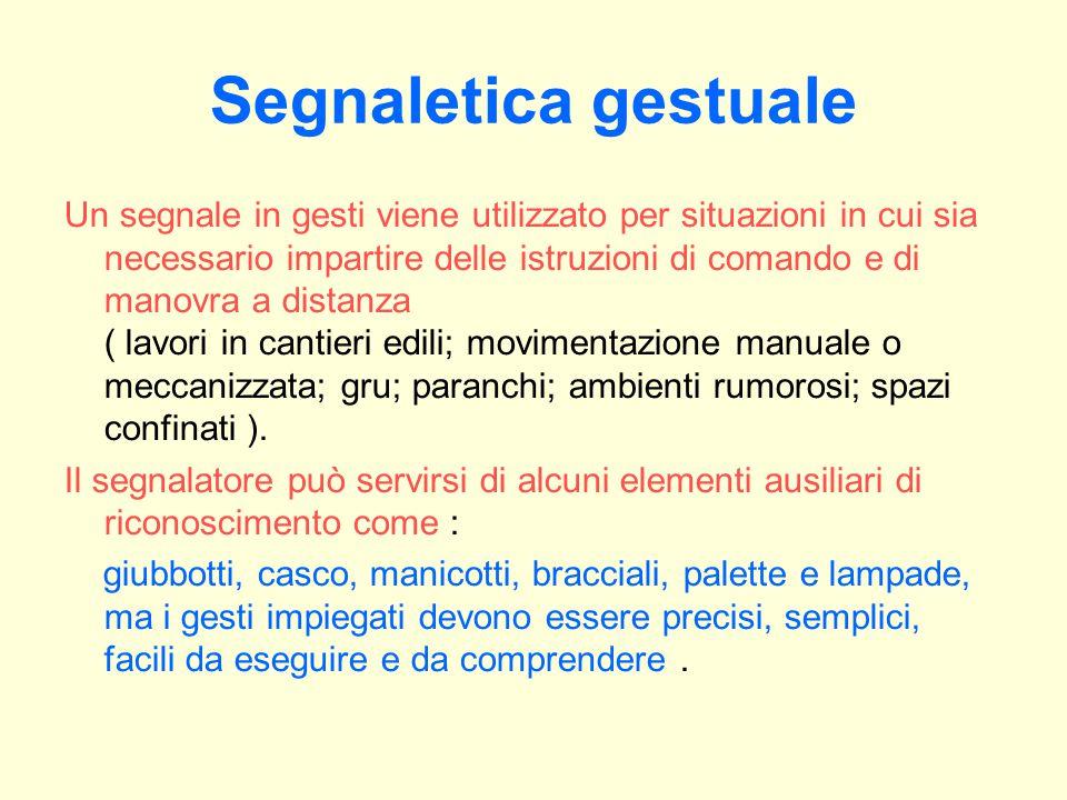 Segnaletica gestuale