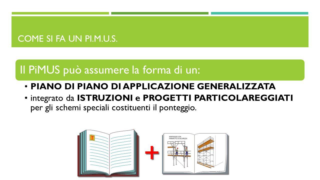 Il PiMUS può assumere la forma di un: