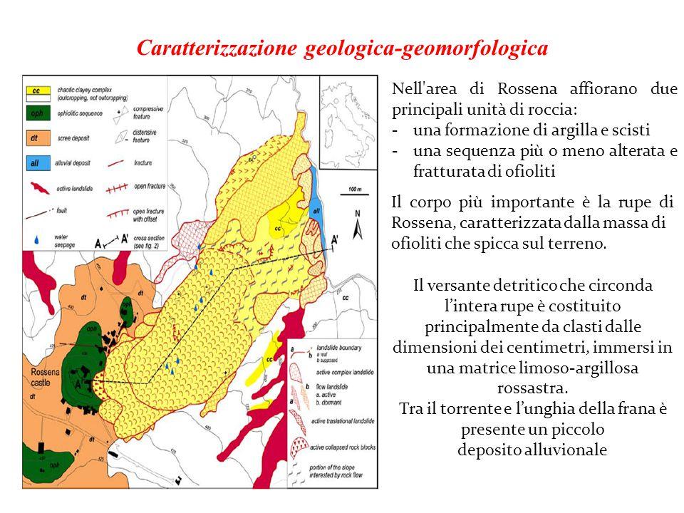 Caratterizzazione geologica-geomorfologica