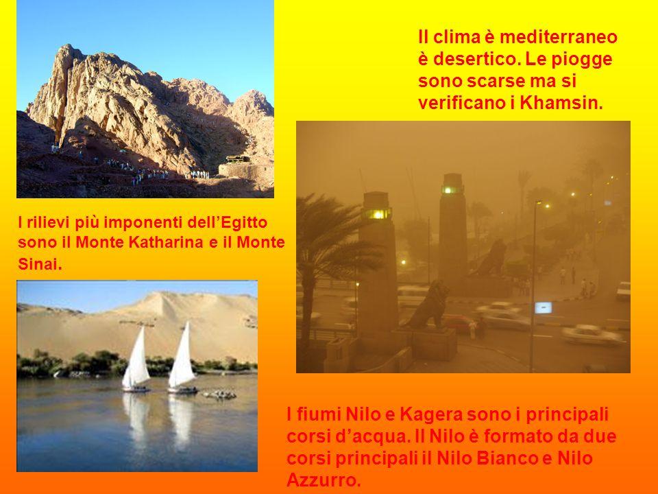 Il clima è mediterraneo è desertico