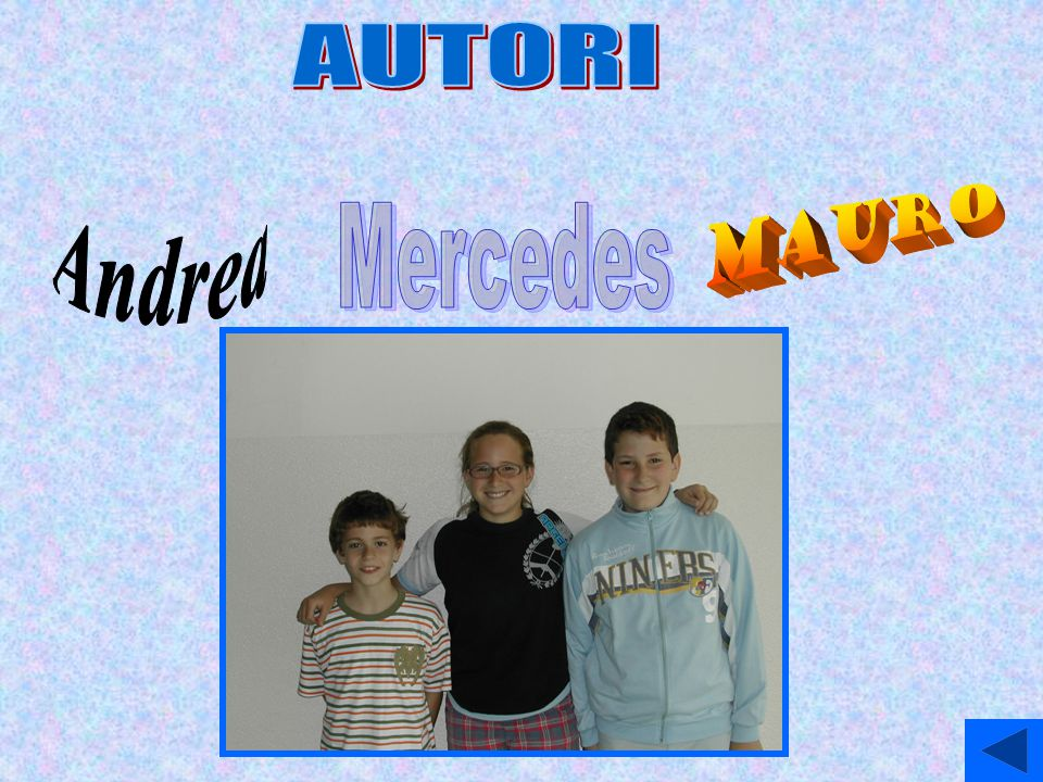 AUTORI Andrea Mauro Mercedes