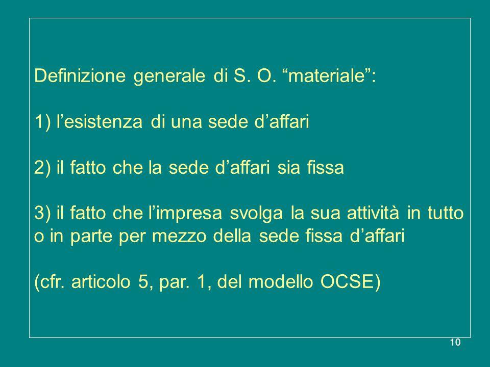 Definizione generale di S. O