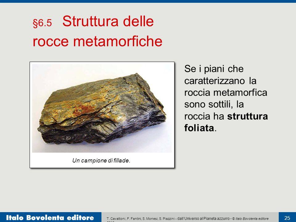 rocce metamorfiche §6.5 Struttura delle