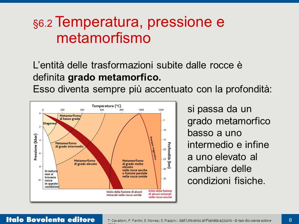 §6.2 Temperatura, pressione e metamorfismo
