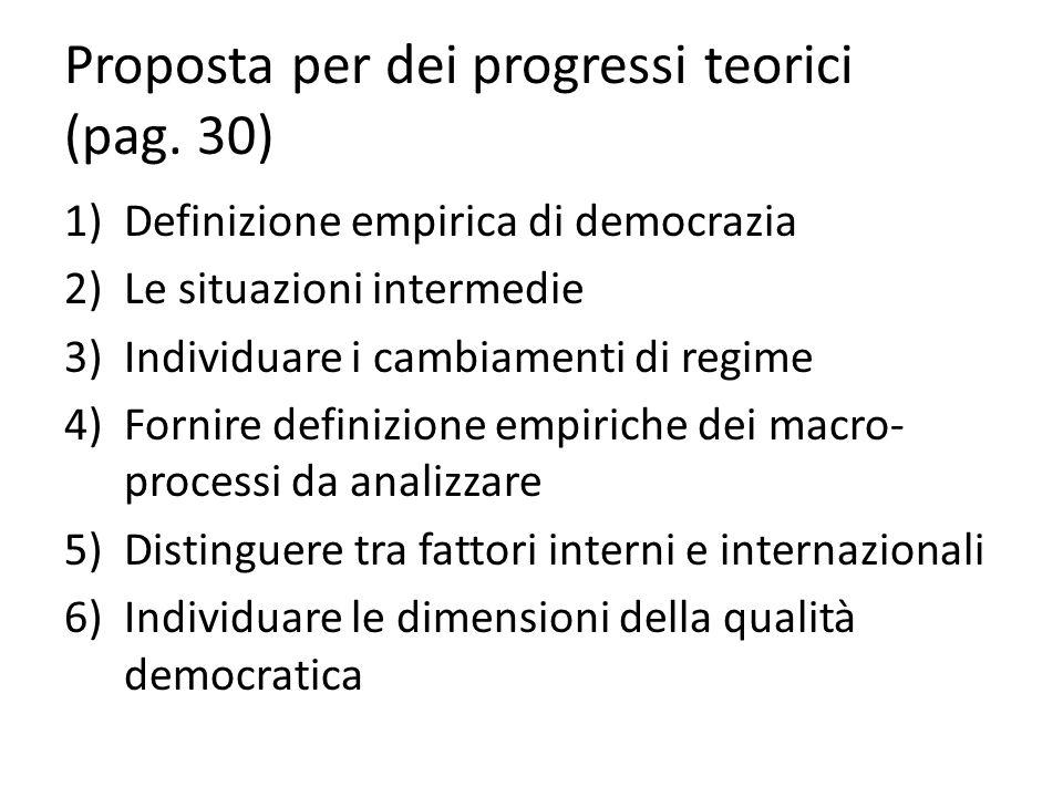 Proposta per dei progressi teorici (pag. 30)