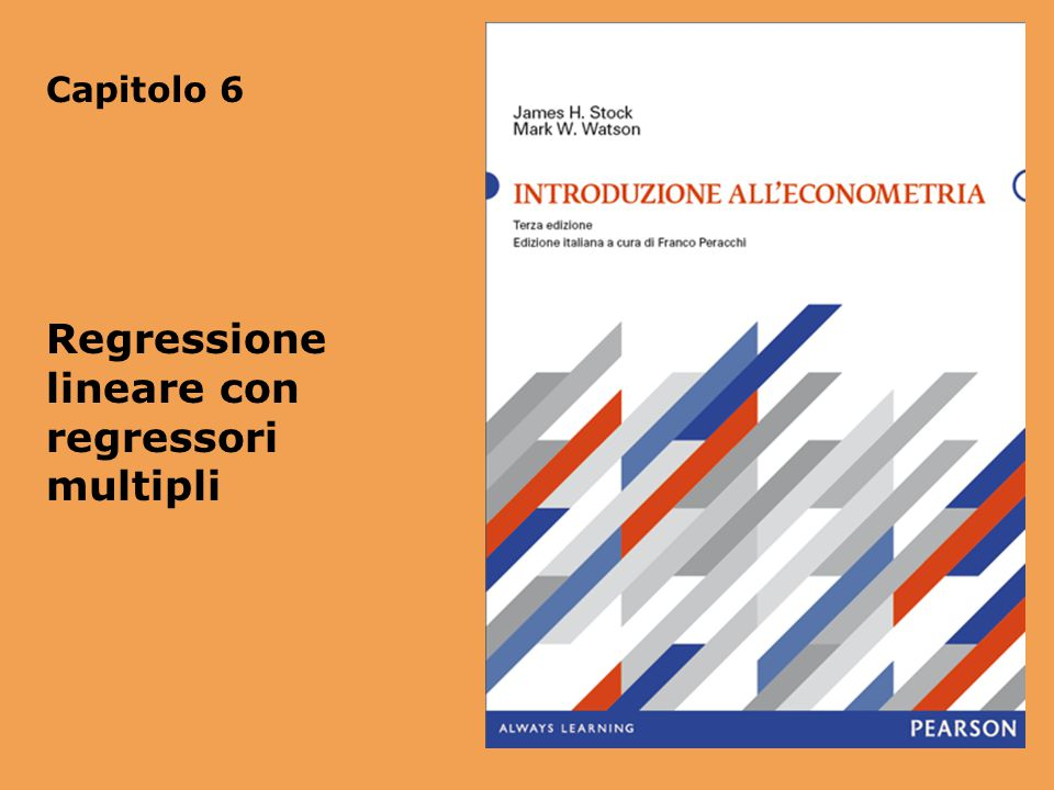 Regressione lineare con regressori multipli