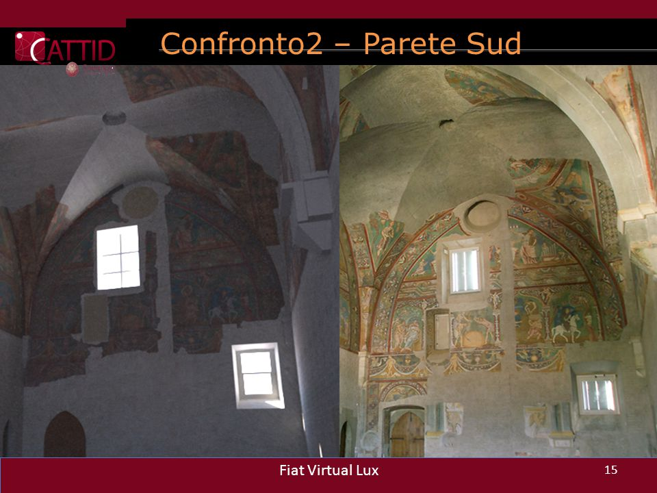 Confronto2 – Parete Sud Fiat Virtual Lux Fiat Virtual Lux