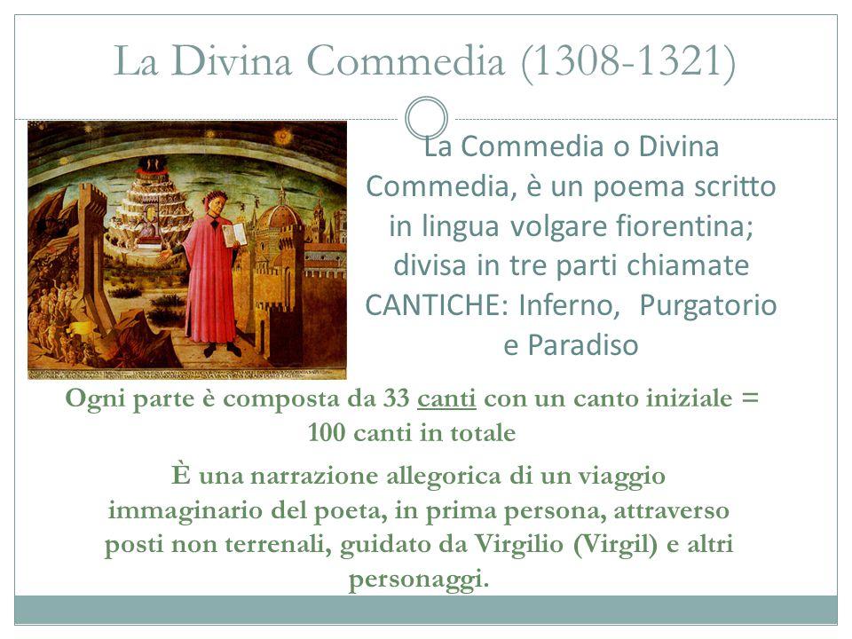 La Divina Commedia (1308-1321)