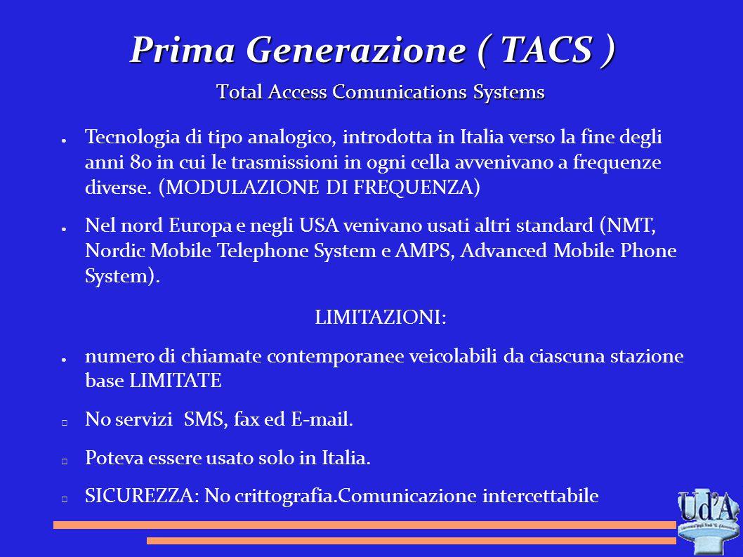 Prima Generazione ( TACS )