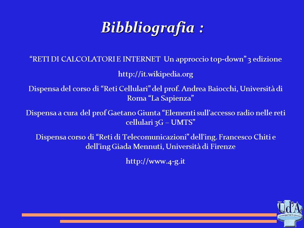 RETI DI CALCOLATORI E INTERNET Un approccio top-down 3 edizione