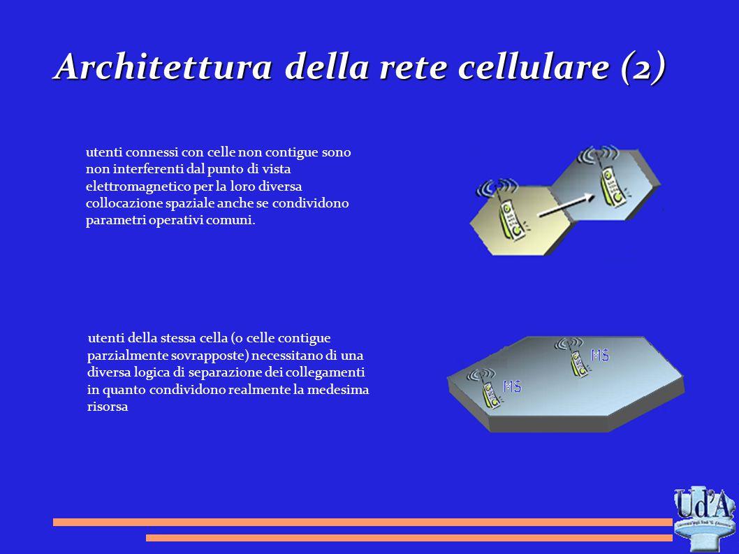 Architettura della rete cellulare (2)
