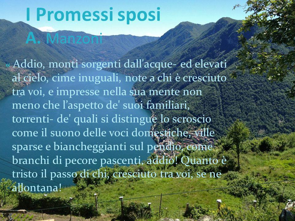 I Promessi sposi A. Manzoni