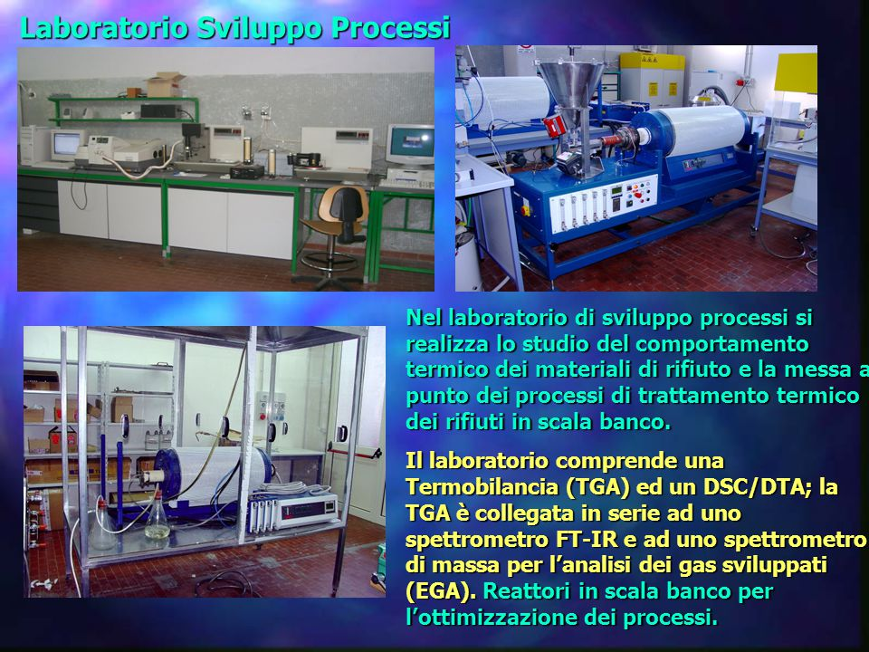 Laboratorio Sviluppo Processi